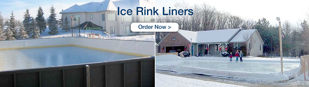 Ice Rink Liners - Order Now
