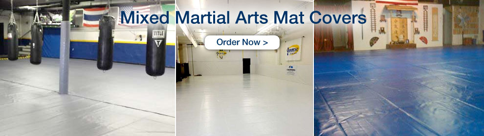MMA Mat Covers - Order Now