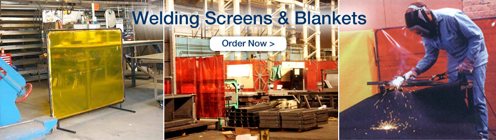 Welding Screens and Blankets - Order Now