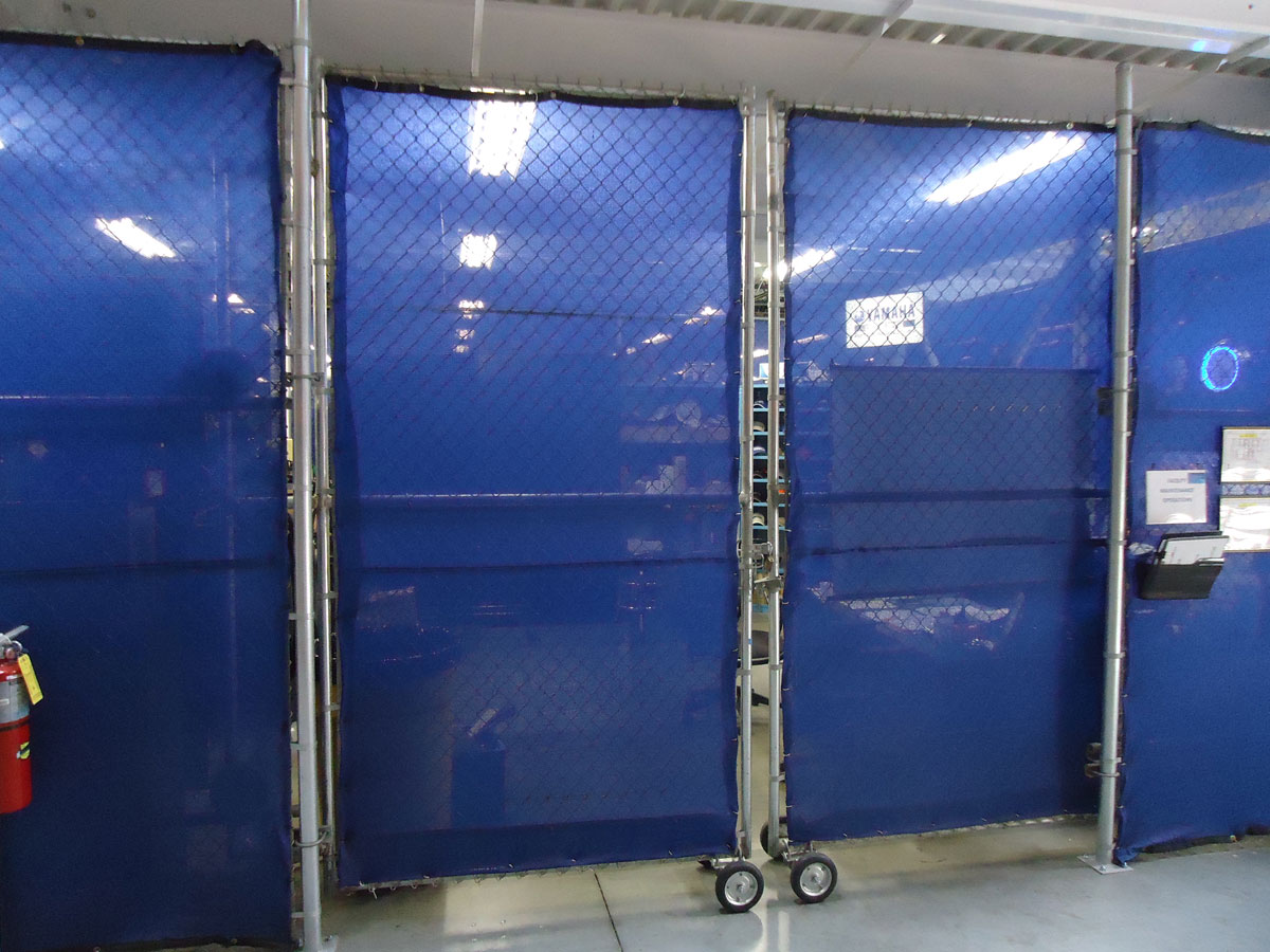 Portable factory dividers